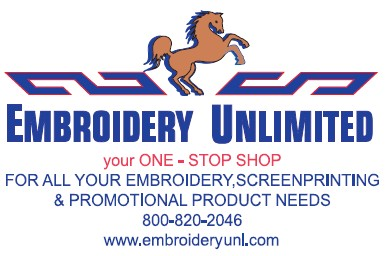 Embroidery Unlimited.